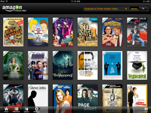 Amazon Instant Video for the iPad