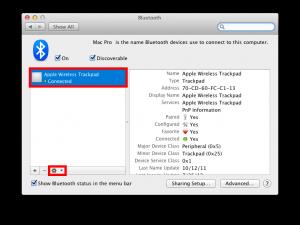 Fix Apple Magic Trackpad open settings