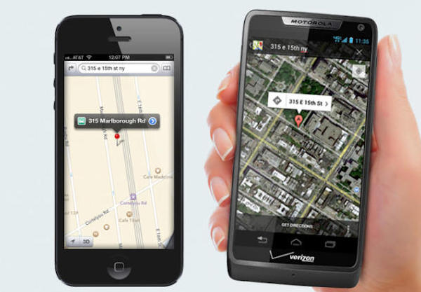 motorola ad distorts the truth about Maps