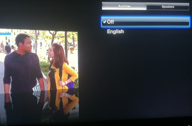 Hulu Plus adds subtitles for Apple TV