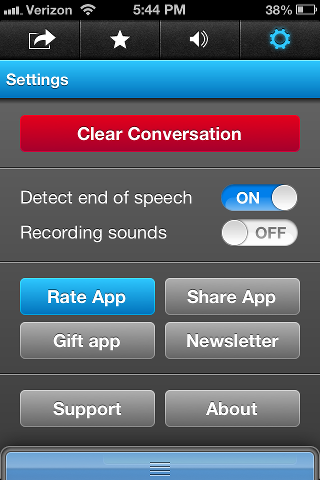 SayHi Translate settings