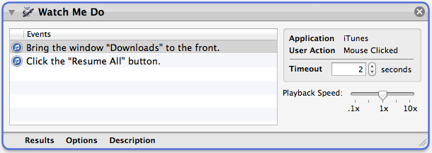 steps to automate iTunes download