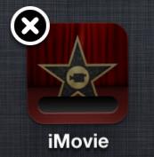 Delete stuck iPhone app