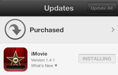 iPhone app won't update