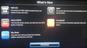 Apple TV 5.3 update
