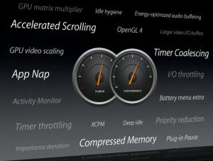 OS X Mavericks system features