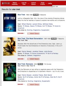 Star Trek on Netflix