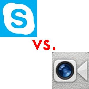 Skype vs. FaceTime