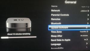 Apple TV 6.0 update