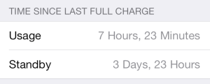 iOS 7 Battery Life Tips