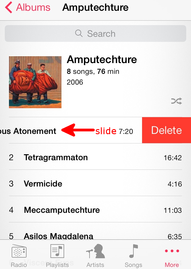 How To Delete Music From The Iphone