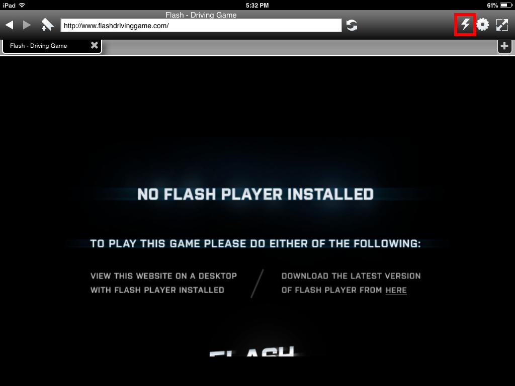cara download flash player ipad 2