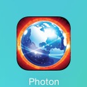 Photon web browser supports Adobe Flash