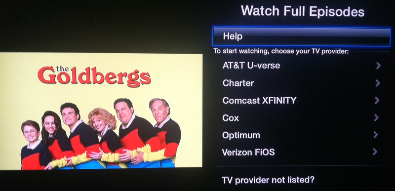 ABC for Apple TV
