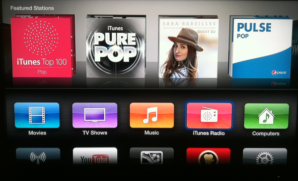 iTunes Radio for Apple TV