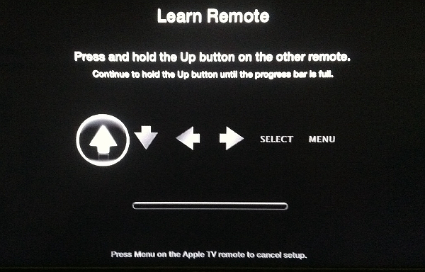 use any remote with Apple TV