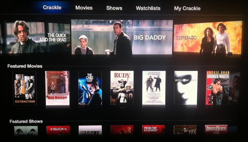 Crackle for Apple TV