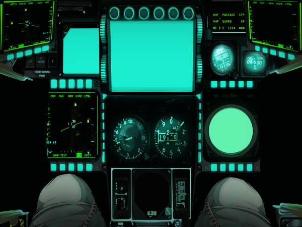 MetalStorm cockpit controller on iPad