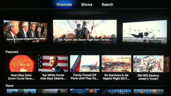 AOL On for Apple TV