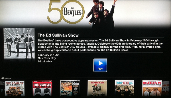 The Beatles Channel for Apple TV