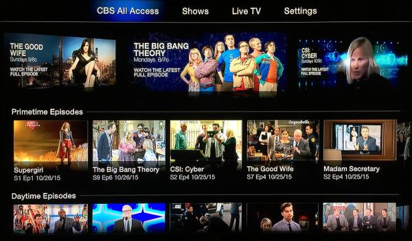 CBS for Apple TV