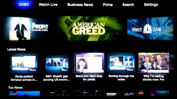 CNBC on Apple TV