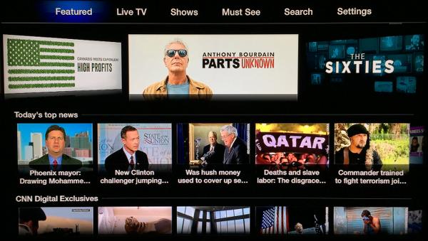 CNNgo on Apple TV