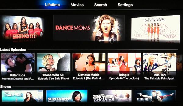 Lifetime on Apple TV