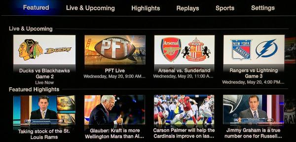 NBC Sports Live Extra on Apple TV