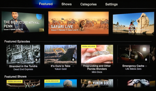 Nat Geo on Apple TV