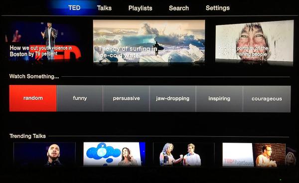 TED on Apple TV