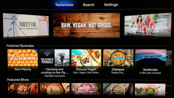 Tastemade on Apple TV