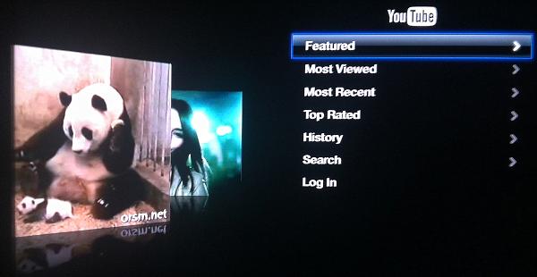 Apple TV YouTube