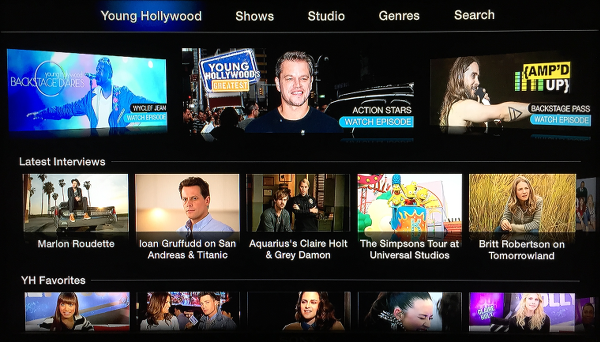 Young Hollywood on Apple TV