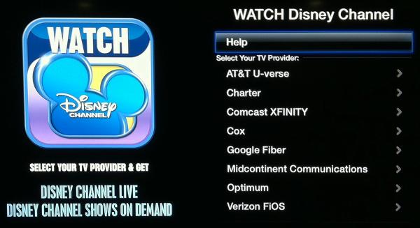 Apple TV Disney