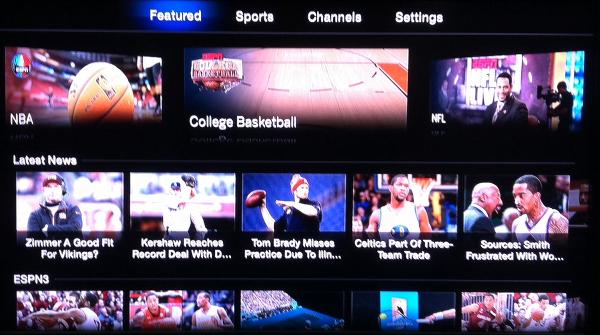 Apple TV ESPN