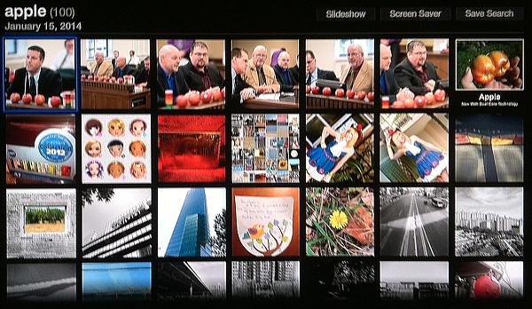 Apple TV Flickr