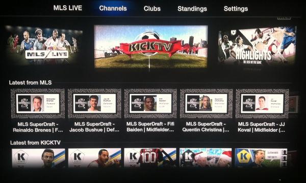 Apple TV Major League Soccer