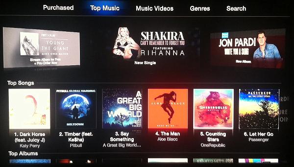 Apple TV Music