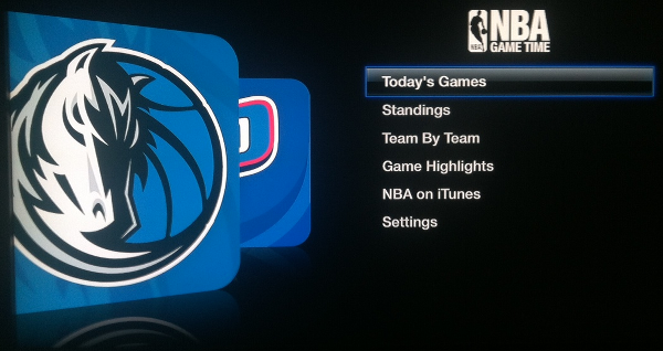 Apple TV NBA