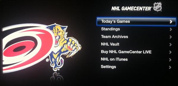 Apple TV NHL
