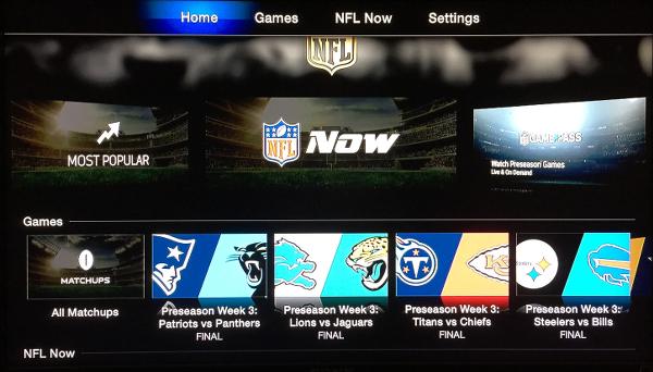 NFL on Apple TV