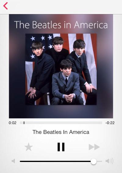 iOS 7 features iTunes Radio