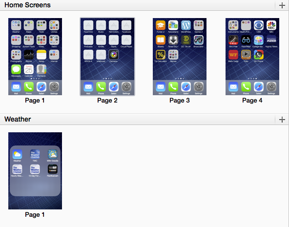How to arrange iPhone icons with iTunes
