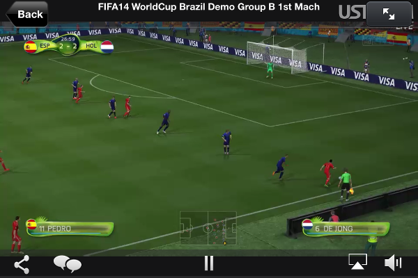 Watch the World Cup for free on the iPhone