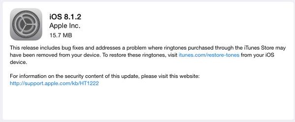 iOS 8.1.2 Worth Upgrading?