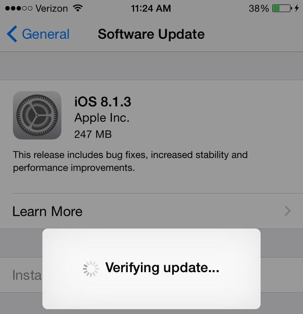 iOS 8.1.3: Worth Upgrading?