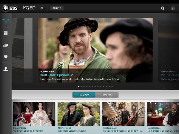 PBS App for iPad