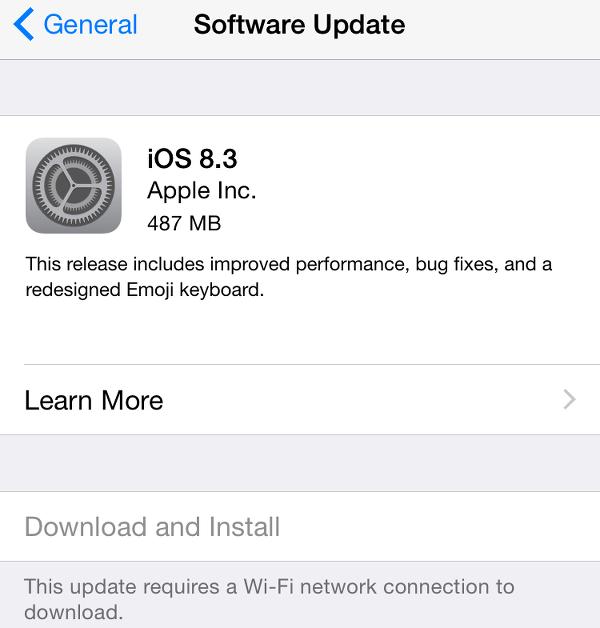 iOS 8.3 Worth Upgrading?