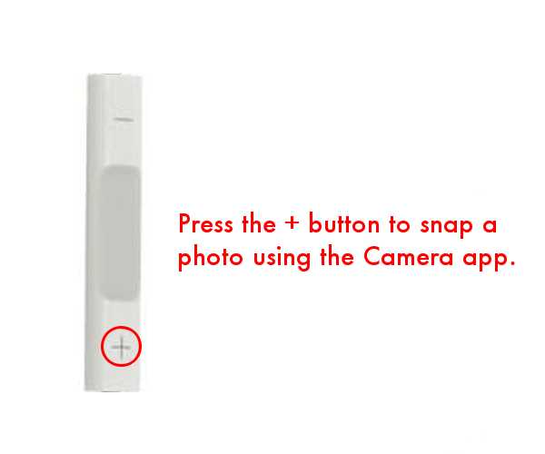Take photo using iPhone headphone controls